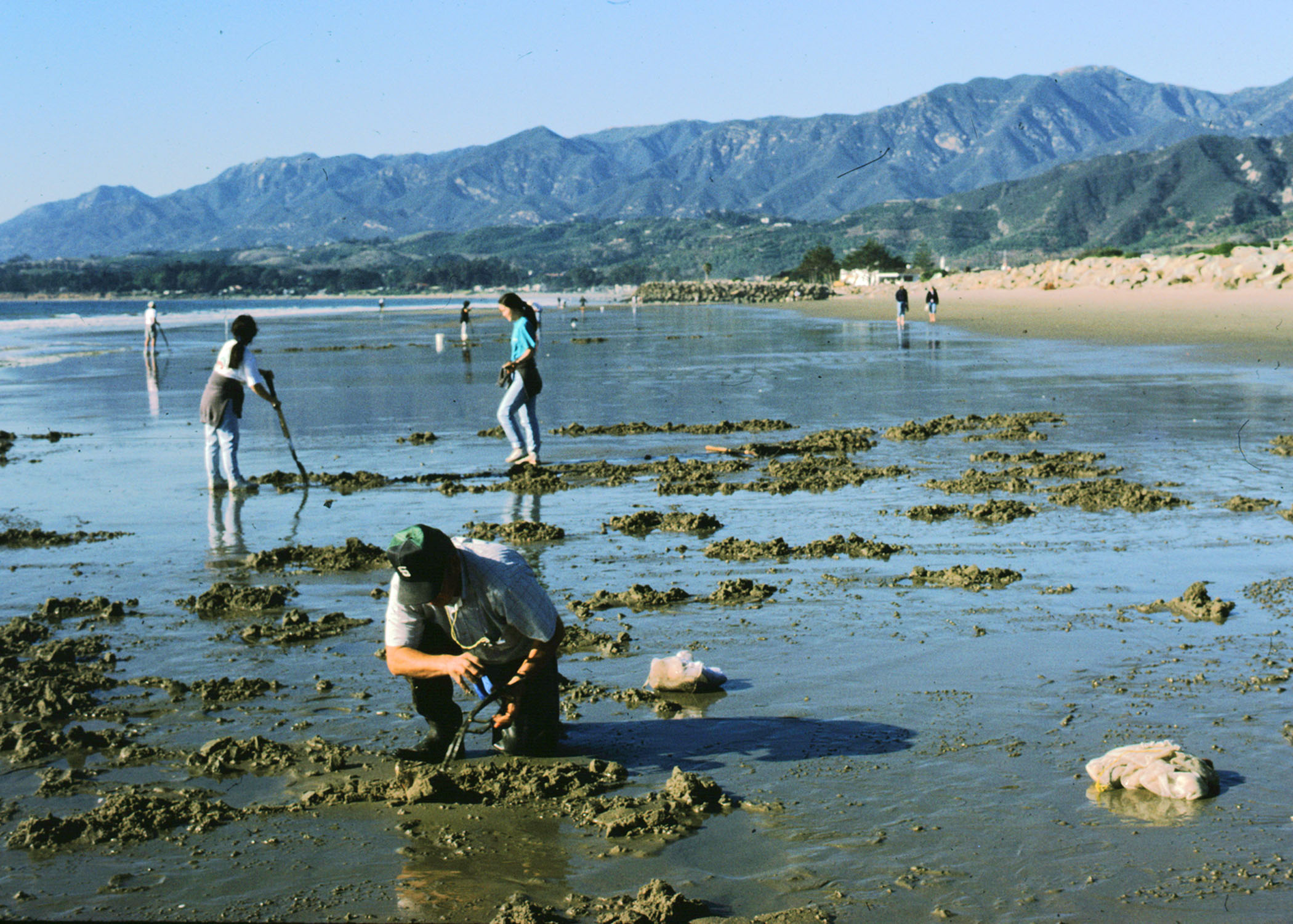 No digging in the mud without a fishing license for Fishing permit ca