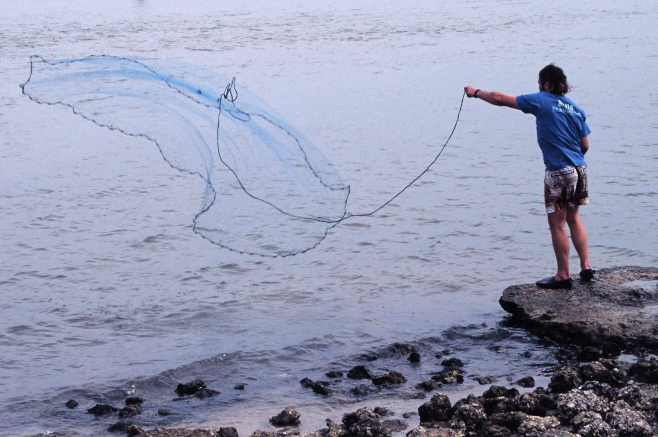 Nets california outdoors q and a for Fish catching net