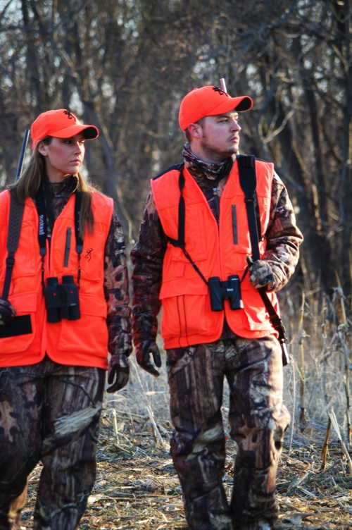 Hunters in the field must carry valid licenses and tags (Photo courtesy of National Shooting Sports Foundation)