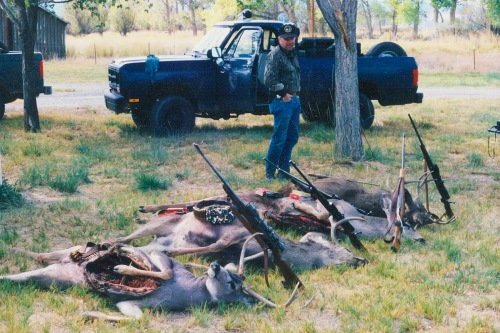 Deer poaching (CDFW photo)