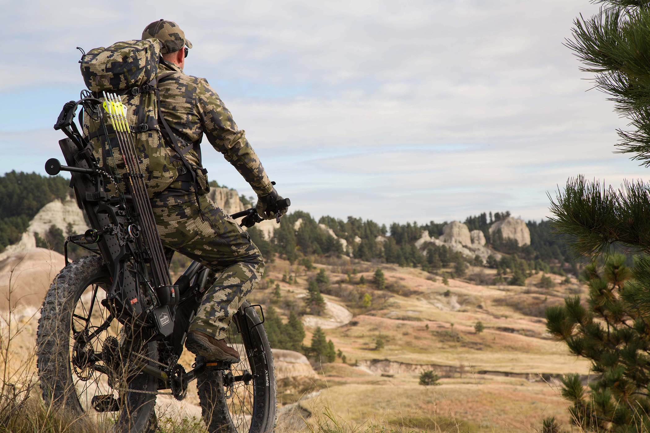 Hunting and shooting from a mountain bike california for Fish and game