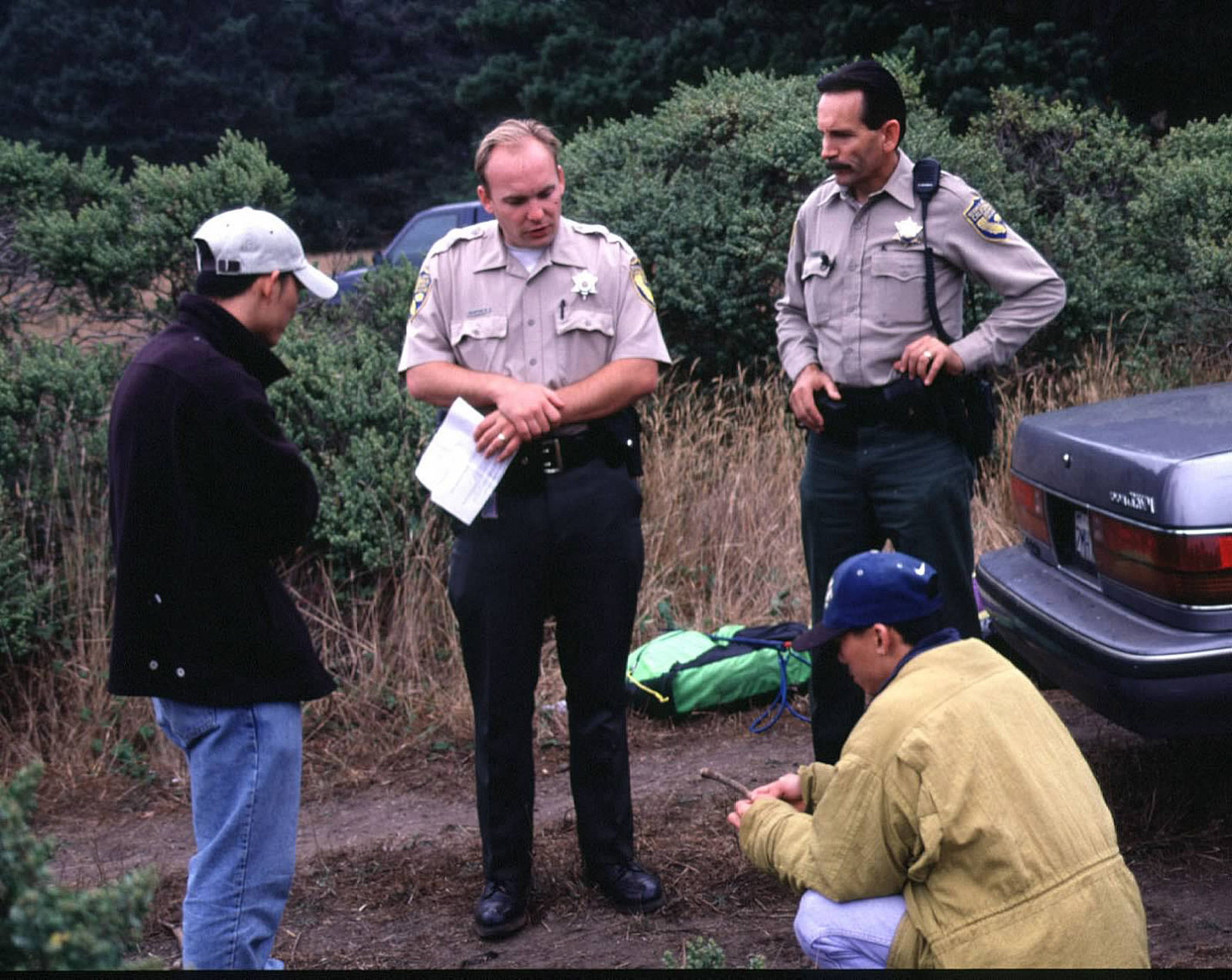 What s the level of wildlife officers search authority for California fish and wildlife