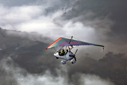 Ultra-light aircraft cannot be flown lower than 500 ft. from the surface (Creative Commons photo)
