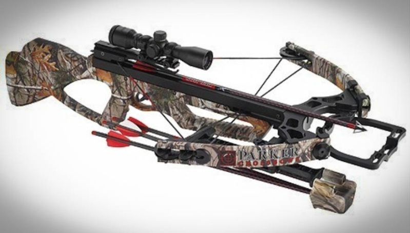 """Crossbows are normally not considered legal """"archery"""" equipment for taking game birds and game mammals during archery-only season. However, there is an exception for those who hold a Disabled Archer Permit. (Photo courtesy of Parker Bows)"""